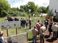 Eröffnung des Schaugartens 2015