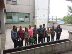 Das Team der Schulgarten AG der Kraichgau Realschule Sinsheim