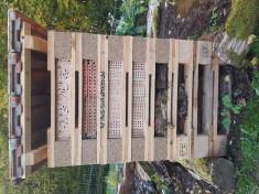 Ost-Seite des Insekten-Hochhauses fertig