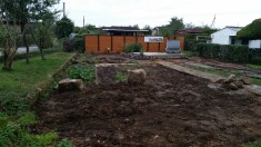 Umgestaltung Garten 85