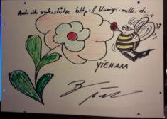 """Auch einige Prominente unterstützen """"Blumiges Melle"""", z.B. Bjarne Mädel (bekannt z.B ..."""