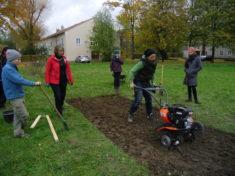 Bodenfräse + Boden abnehmen