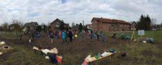 Die GrundschülerInnen der Grundschule Westerhausen waren voll bei der Sache