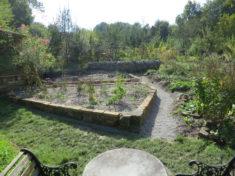 Fläche im Oktober nach der Umgestaltung