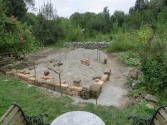 Baustelle im September
