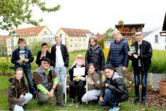 Das Team der Selma-Rosenfeld-Realschule in Eppingen beim Start für das Frühjahrsummen.