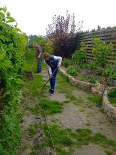 Die kalten Wochen sind vorbei, die Gartenfreunde bevölkern wieder die Kolonie und das Saatgut fü ...