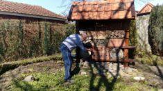 Instandsetzung unseres Bienenhotels