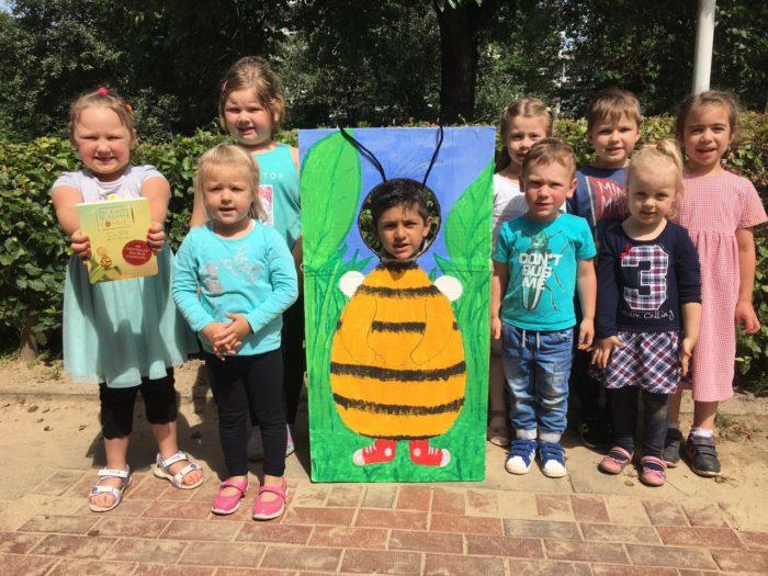 Unsere Biene