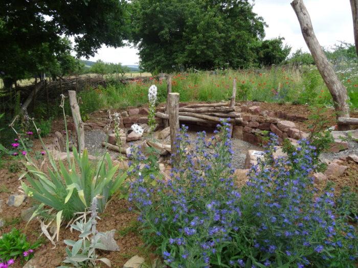 Unser Gartenrondell.
