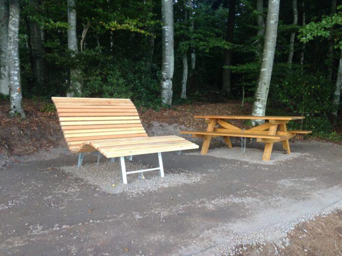 2. Hotzenwald Alpenpanorma: Der Sitzplatz – ein Erlebnis
