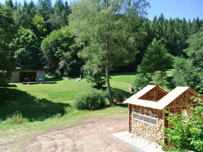 XXL Insektenhotel im Fließenbachtel bei Rieneck